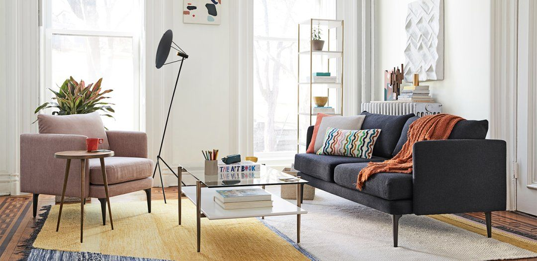 Bright And Budget Friendly West Elm West Elm Living Room Decor