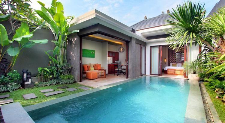 Best Villas In Seminyak Small Villa Bali House Villa Design