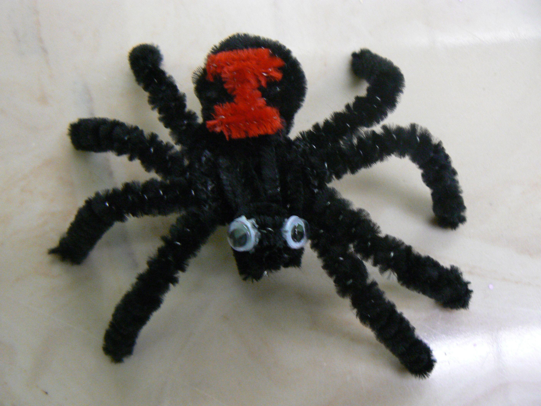 Black Widow | pipe cleaner animals | Pinterest | Black ... - photo#43