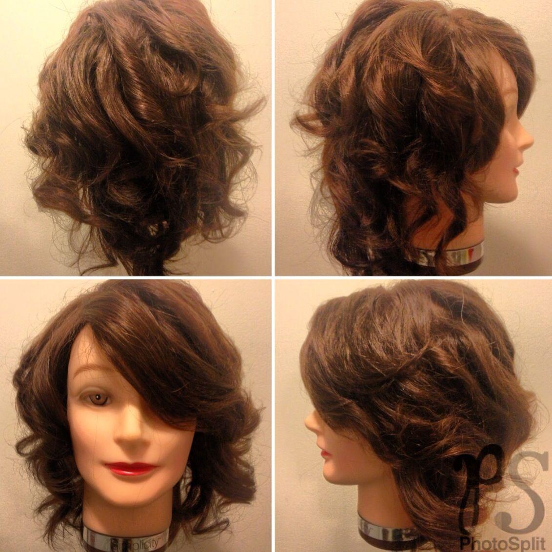 Week 2 Round Brush Directional Hair Styles Hair Long Hair Styles