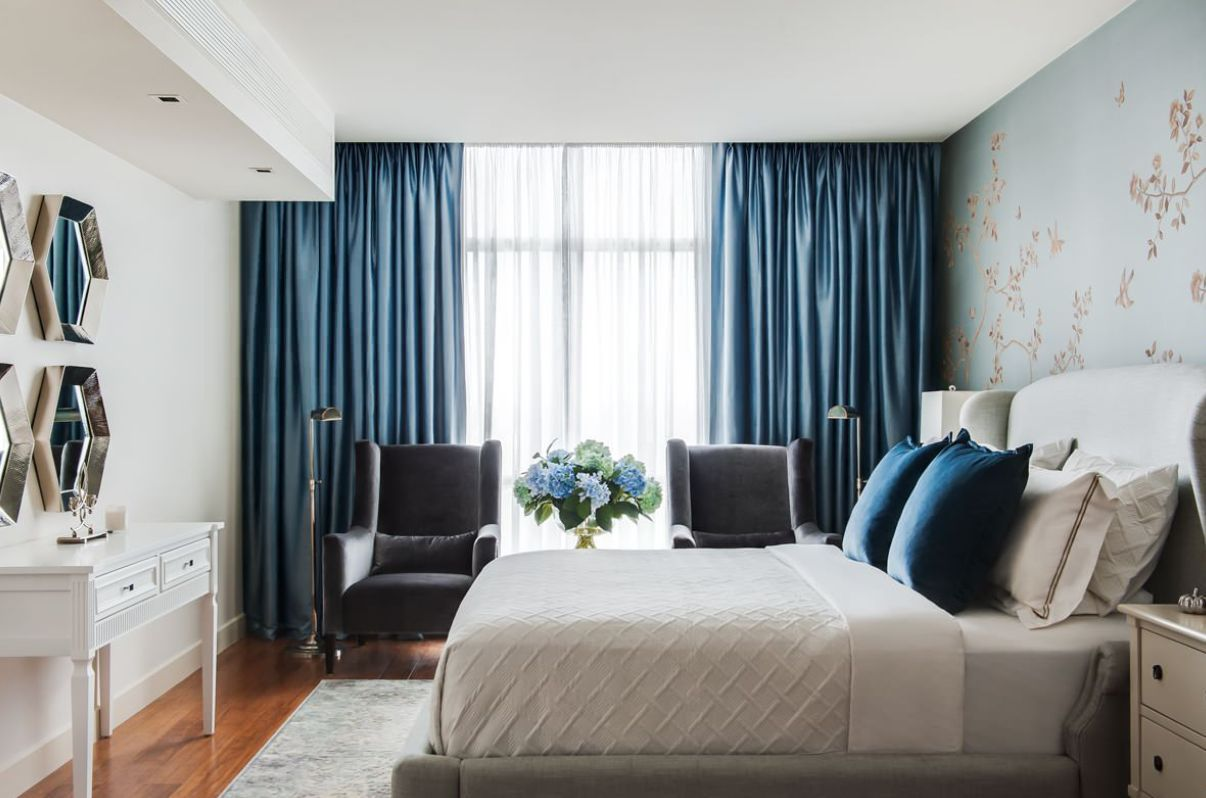 Make Your Windows The Star Of The Room With These Bedroom Curtain Ideas In 2020 Master Bedroom Curtains Curtain Designs For Bedroom Bedroom Interior