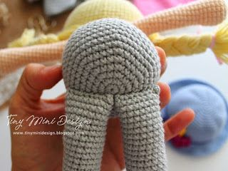 Amigurumi Tini Mini Kız Yapılışı-Free Pattern Tini Mini Dolls - Tiny Mini Design #amigurumis
