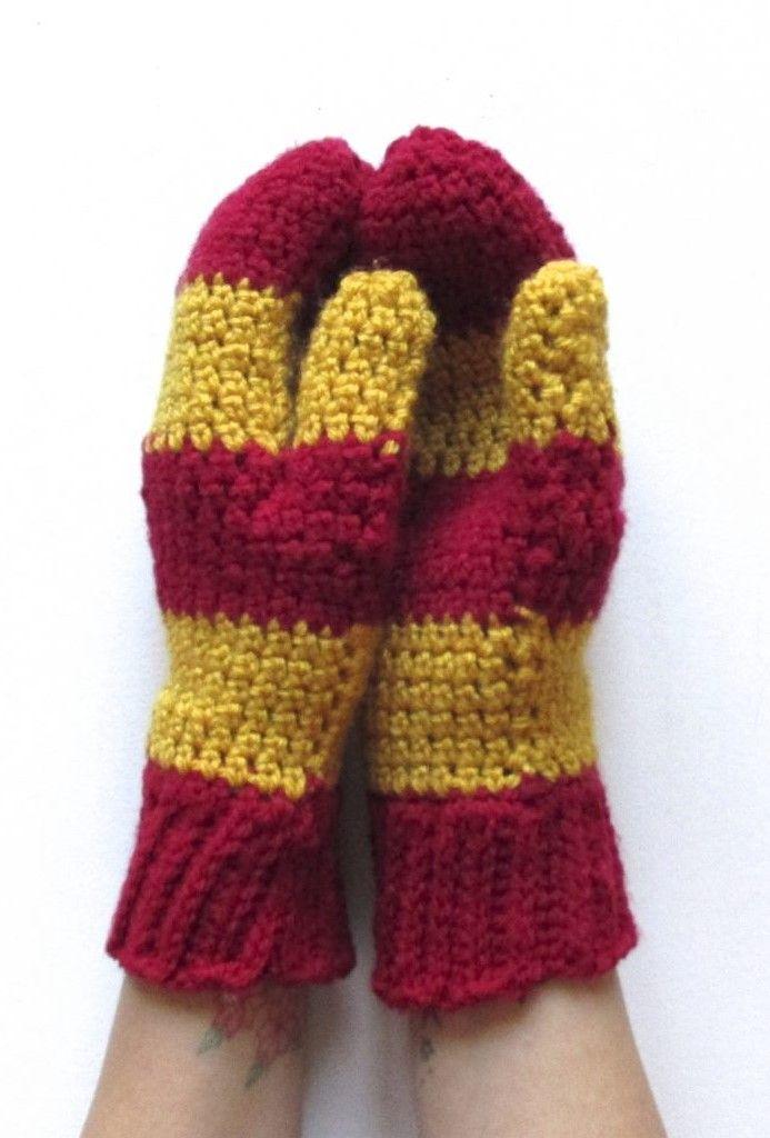 Encantador Harry Potter Patrón De Confección De Bufandas Molde ...