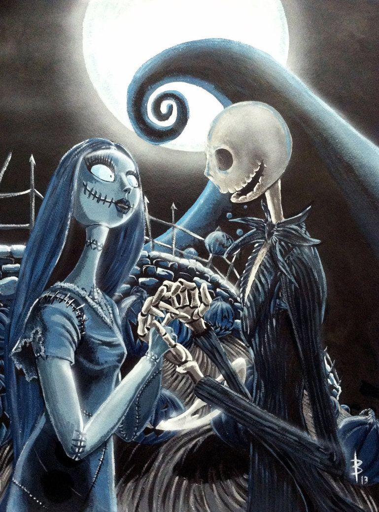 89e7670bd9a9a Jack and Sally by greyfoxdie85 on deviantART