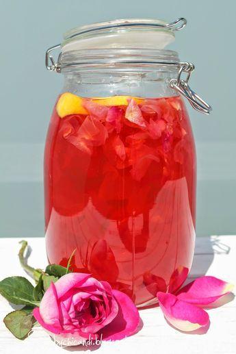 rosensirup dessert pinterest rosensirup sirup und. Black Bedroom Furniture Sets. Home Design Ideas
