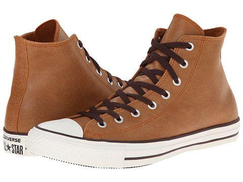 converse all star vintage leather hi auburn