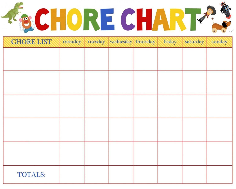 Printable Chore Reward Chart With Images Chore Chart Kids