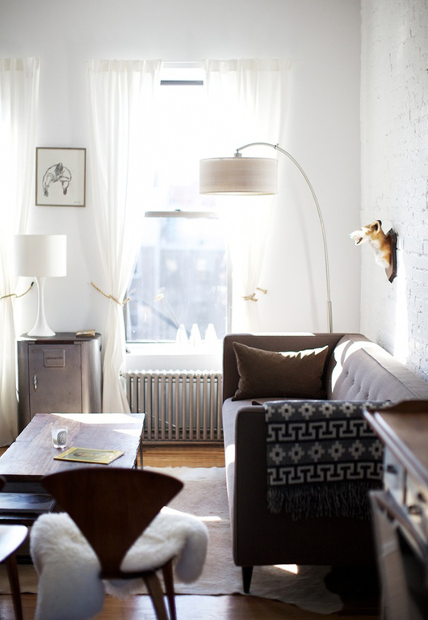 Small Living Room Apartment Therapy: 30 Absolutely Brilliant Ideas & Solutions For Your Small
