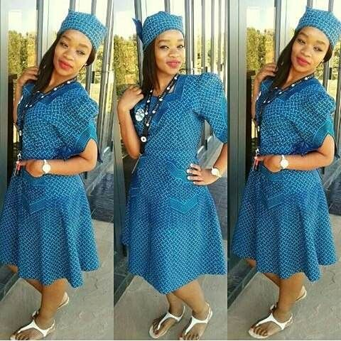 Shweshwe Traditional Dresses Styleyou 2018 Pinterest African Dress 2017 Design And Attendance