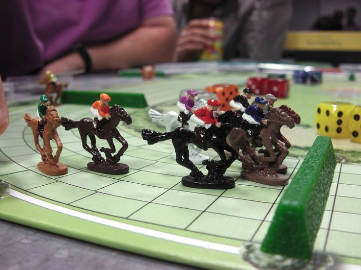 Hit the track with these top 5 horse racing board games