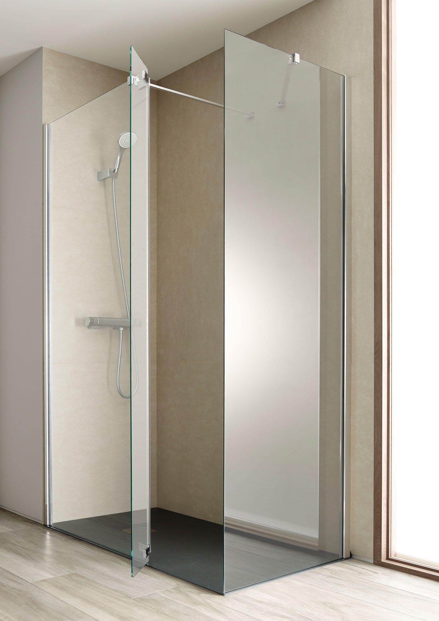 Las más cómodas, las de apertura batiente en 2019 | Cuarto de baño ...