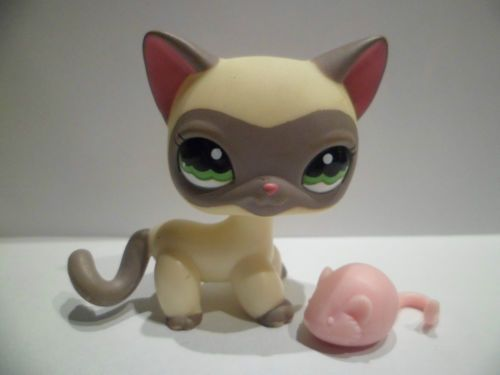 lps littlest petshop pet shop cat chat europeen 1116 lps. Black Bedroom Furniture Sets. Home Design Ideas