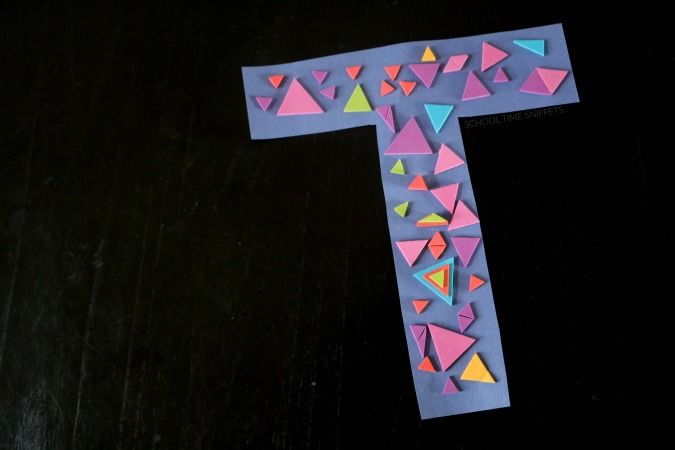 letter t crafts for preschool or kindergarten fun easy and educational