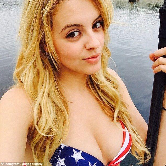 american teen blonde