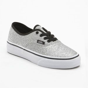 7184b557a429 VANS Glitter Authentic Girls Shoes