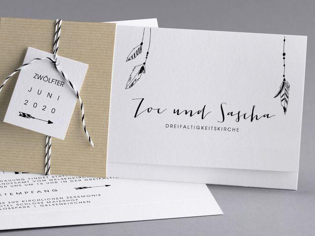Stilvolle Hochzeitskarten Von Cotton Bird The Little Wedding Corner