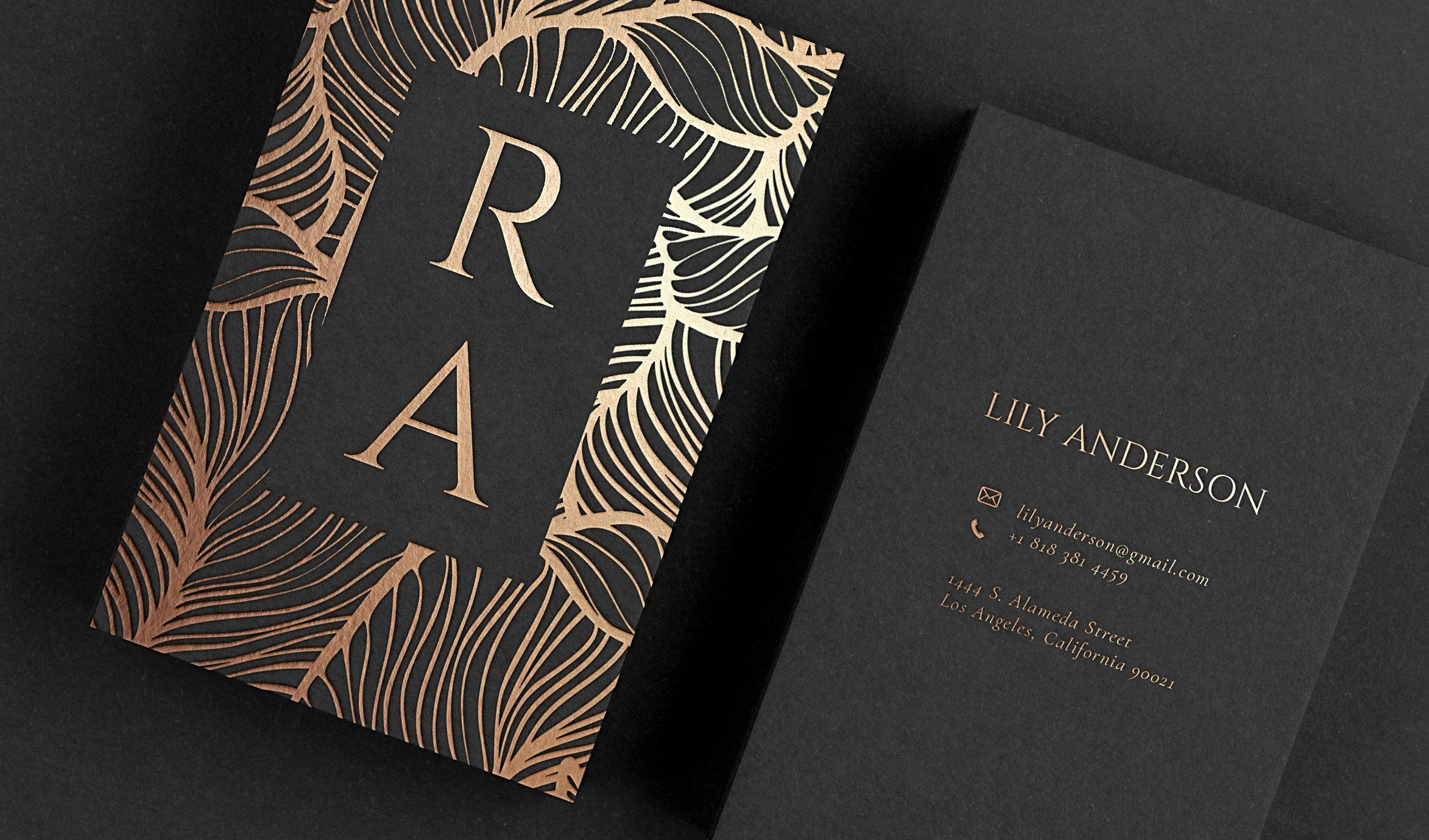 Pin On Luxury Business Cards