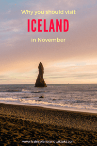 in November: Seven reasons you HAVE to go Visiting Iceland in winter is magical. You can see the Northern Lights, walk on glaciers, and enjoy two-hour-long sunrises. Plus if you're trying to travel Iceland on a budget, going to Iceland in November or later is a great way to save money.Visiting Iceland in winter is magical. You can see the Northern...