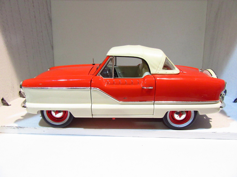 1/18 Diecast Car 1950\'s Nash Amc Metropolitan metal car model car ...