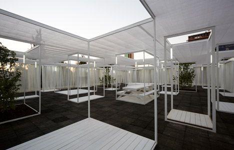 Ambient 30 60 pavilion by umwelt arquitectura ef mera y for Pabellones arquitectura efimera