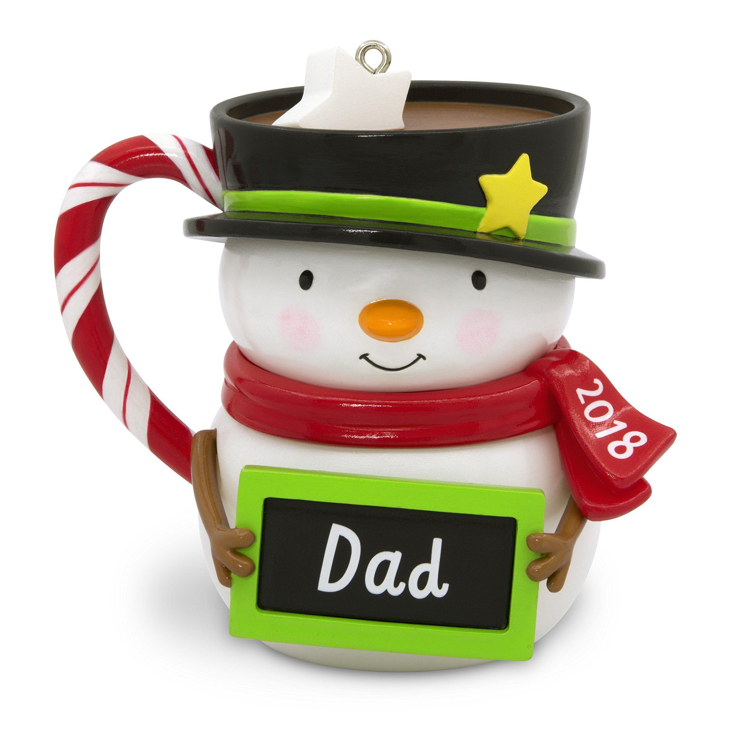 Hallmark Keepsake Christmas Ornament 2018 Year Dated Dad