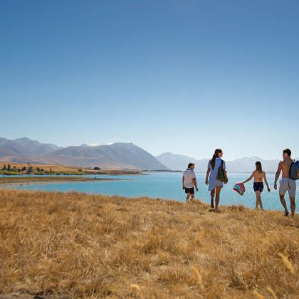 Lake Tekapo is stunning by day and ideal for stargazing by night.