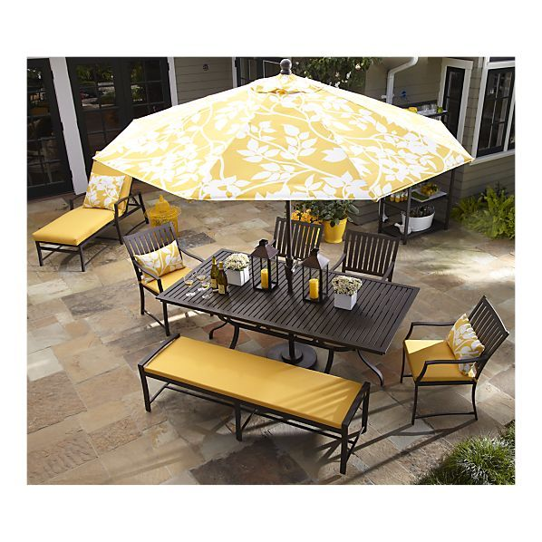 I was just looking at patio furniture, but the ...