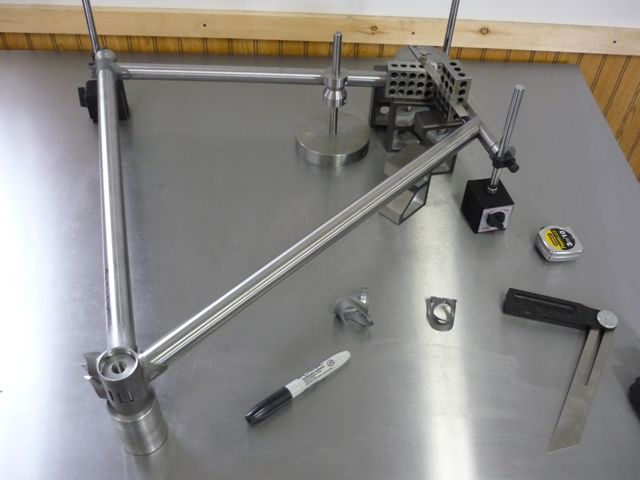 yet another surface plate bicycle frame jig http