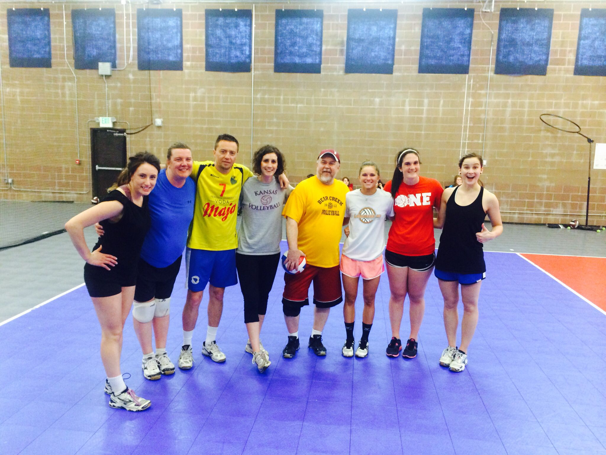 Edge Coaches Rock Our Club Director Jim Is The One Holding The Molten Ball Youcouldwin Usa Volleyball Proud Mom Coaching