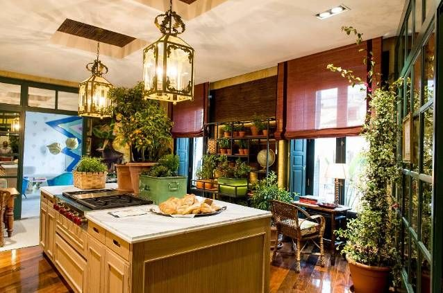 Tropical Themed Kitchen Decor