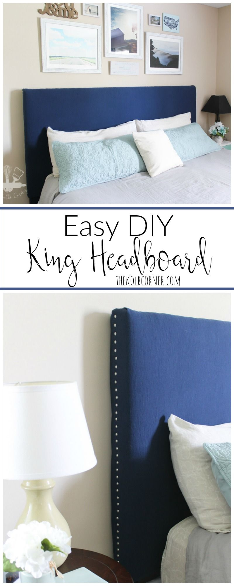 Easy DIY Headboard Easy DIY Headboard