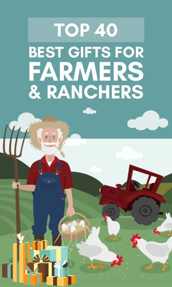 Are you looking for original & unique gifts for farmers?  Then you have come to the right place! We sure BALED it when it comes to our list of best gifts for farmers & ranchers. Whether you're looking for funny farmers gifts, christmas presents for farmers, or gifts for a farmer's wife, we have it all in our top 40+ best gifts for farmers & ranchers. Get ready for some UDDERly great stuff! Here we go!