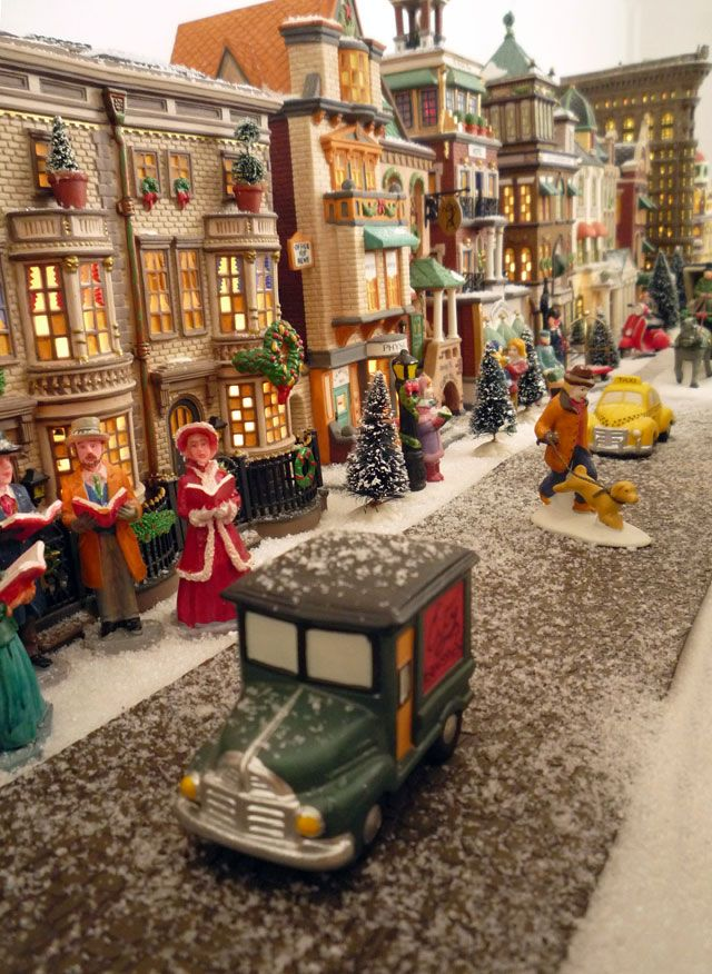 amazing village layout merry + bright Pinterest Layouts - christmas town decorations