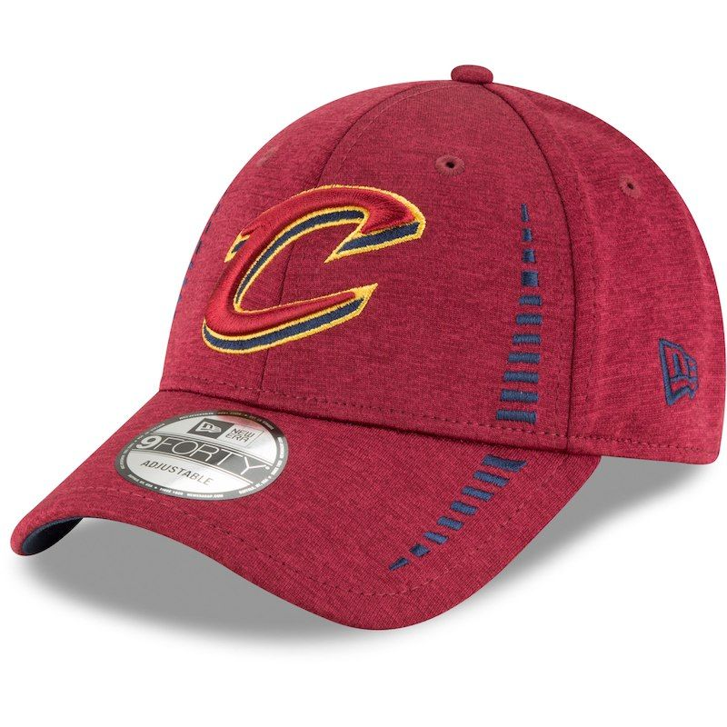 Cleveland Cavaliers New Era Youth Speed Shadow Tech 9FORTY Adjustable Hat –  Heathered Wine 4f9a2400124