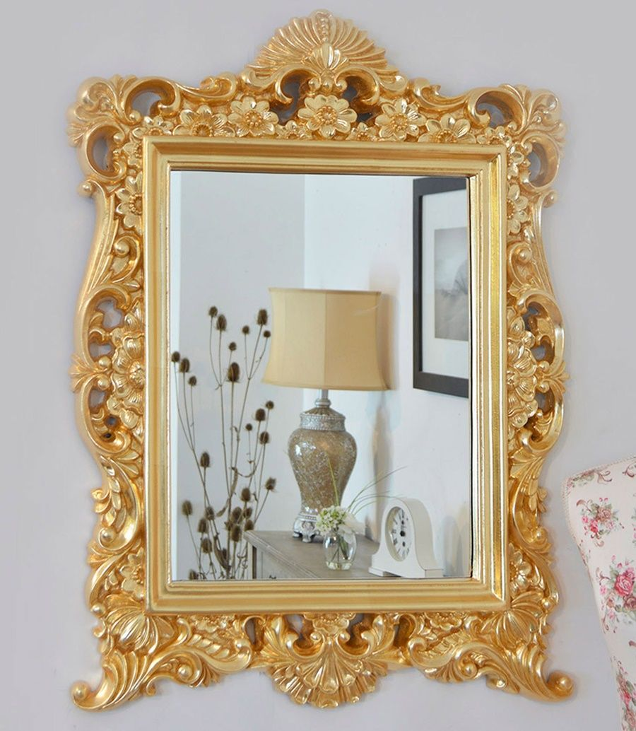 How To Refinish Old Gold Framed Wall Mirror Framed Mirror Wall