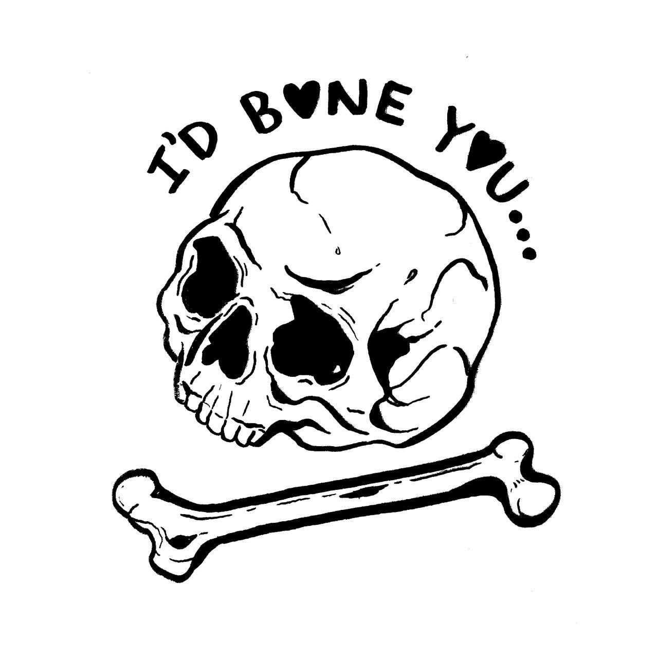 Stay Creepy Photo Skull Funny Art Valentines Card Design
