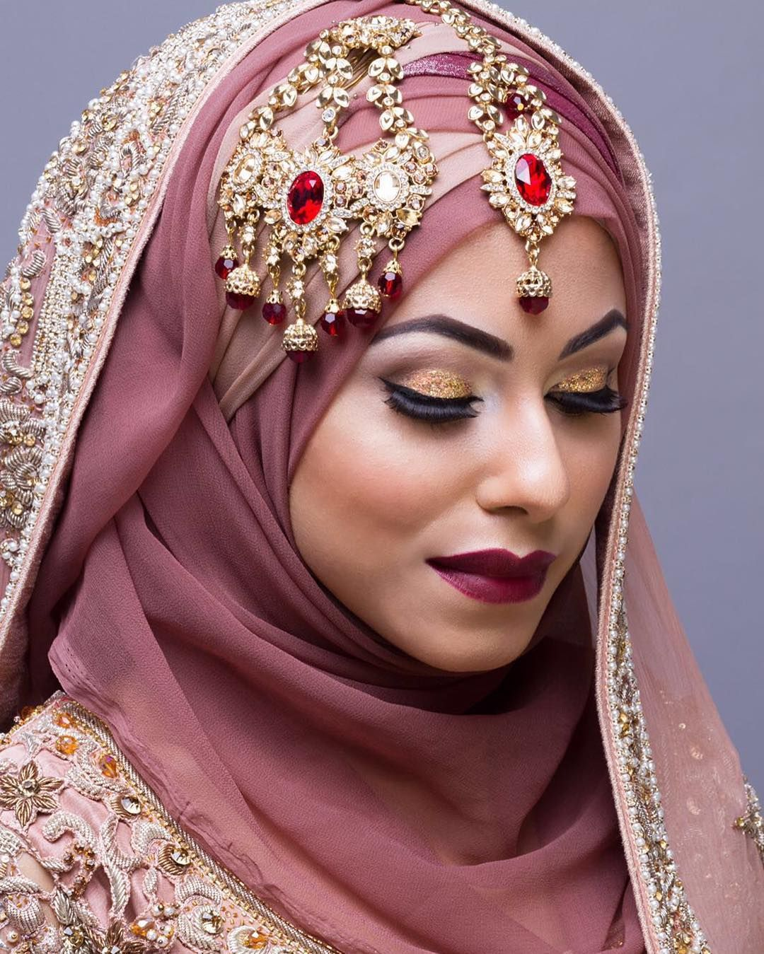 Hair Style With Hijabfor Wedding