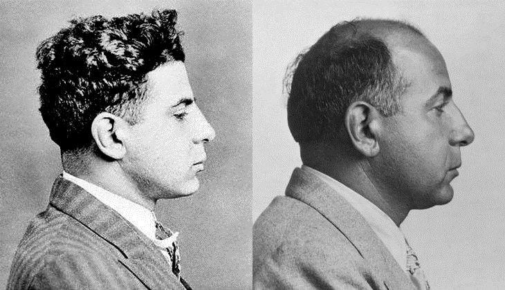 Carmine Galante Photo 8X10 Mobster Mafia New York 1943 Mugshot