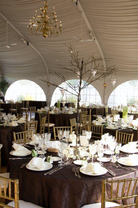 Beautiful Wedding Reception Preparation