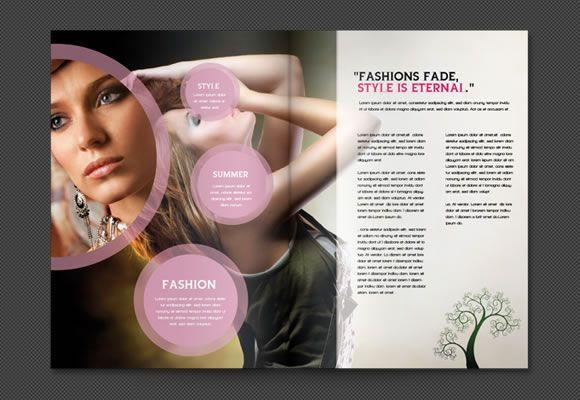 brochure branding design Pinterest Brochures, Branding design - fashion design brochure template