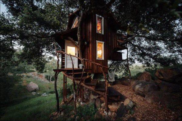 I want thaaat!! (40 Photos) | Tree house, Romantic camping ...
