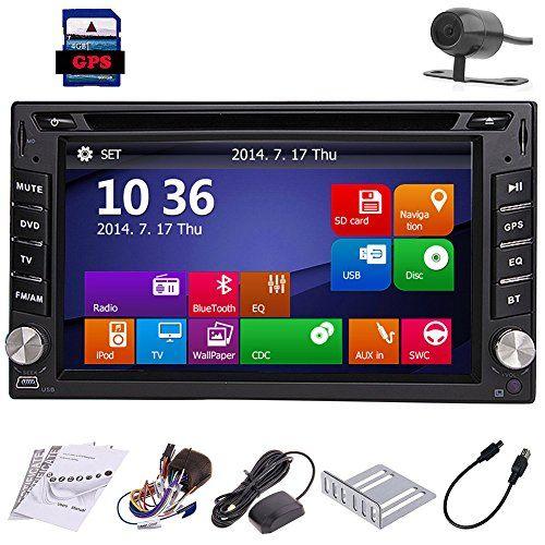 Backup Camera Windows 8 62 Hd Gps Navigation 2 Din Car Stereo Dvd