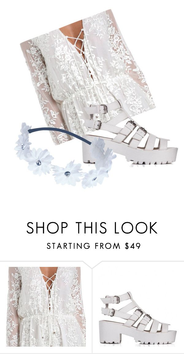 """White summer"" by rohimabegumx ❤ liked on Polyvore featuring Zimmermann and Wet Seal"
