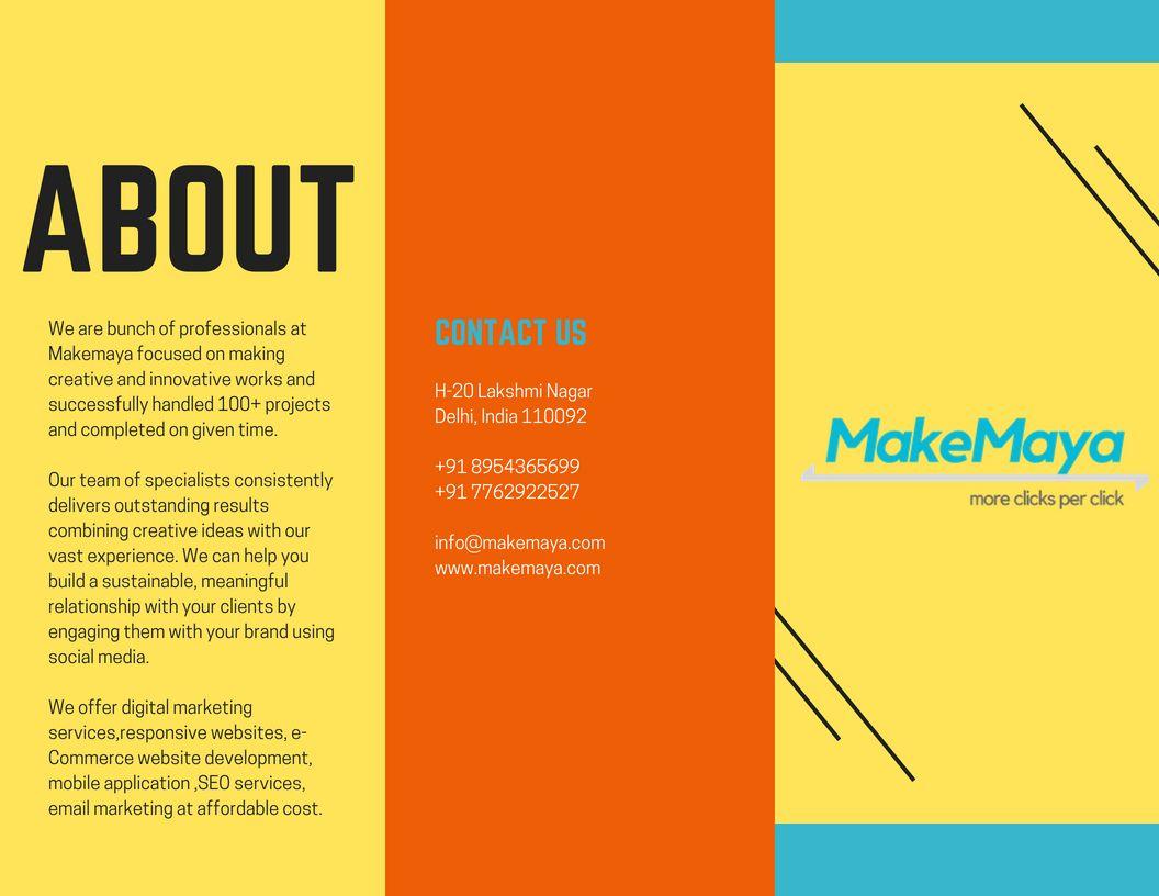 MakeMaya provides the best solution for website