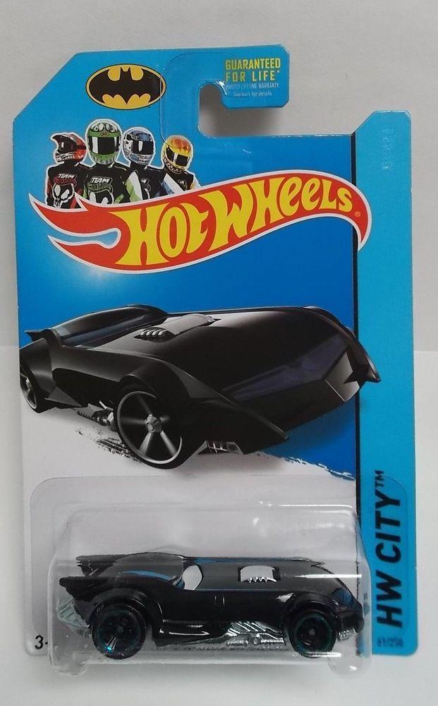 Hot Wheels The Batman Batmobile 2014 Hw City Batman 061 W Chrblue