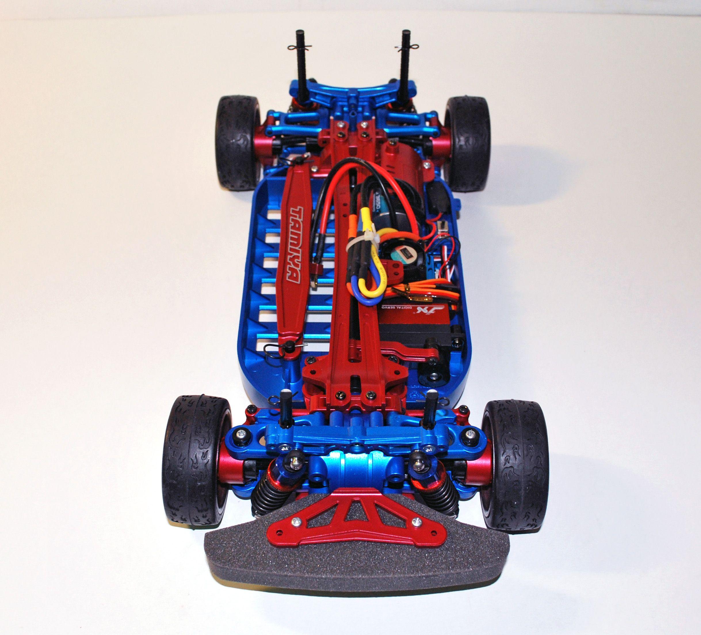 Details about Ultimate Tamiya TT01e Rc Car Custom Built