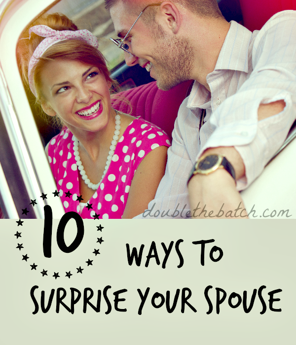 10 Fun Ways To Surprise The Groom On Your Wedding Day: 10 Ways To Surprise Your Spouse
