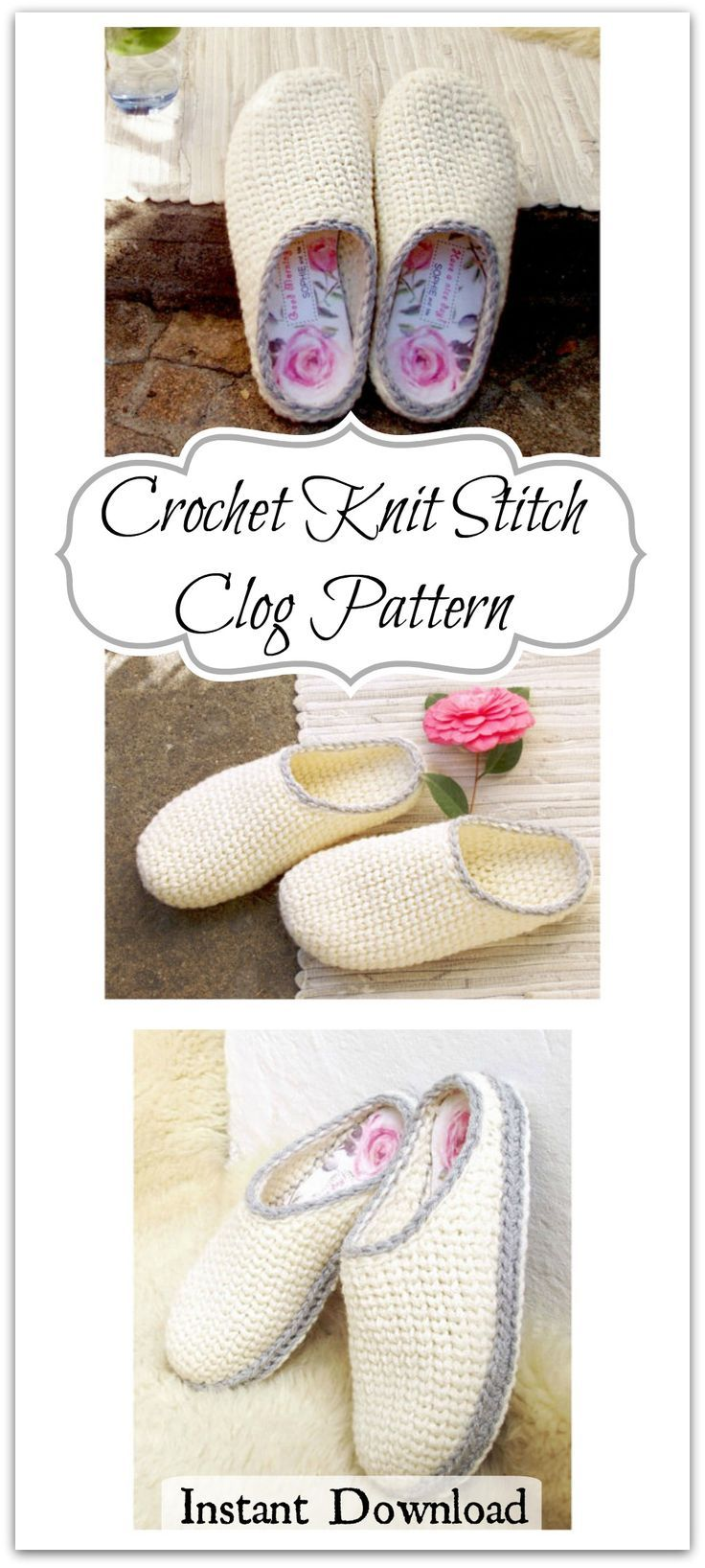 Learn a new stitch! The special crocheted/knit stitch gives a ...