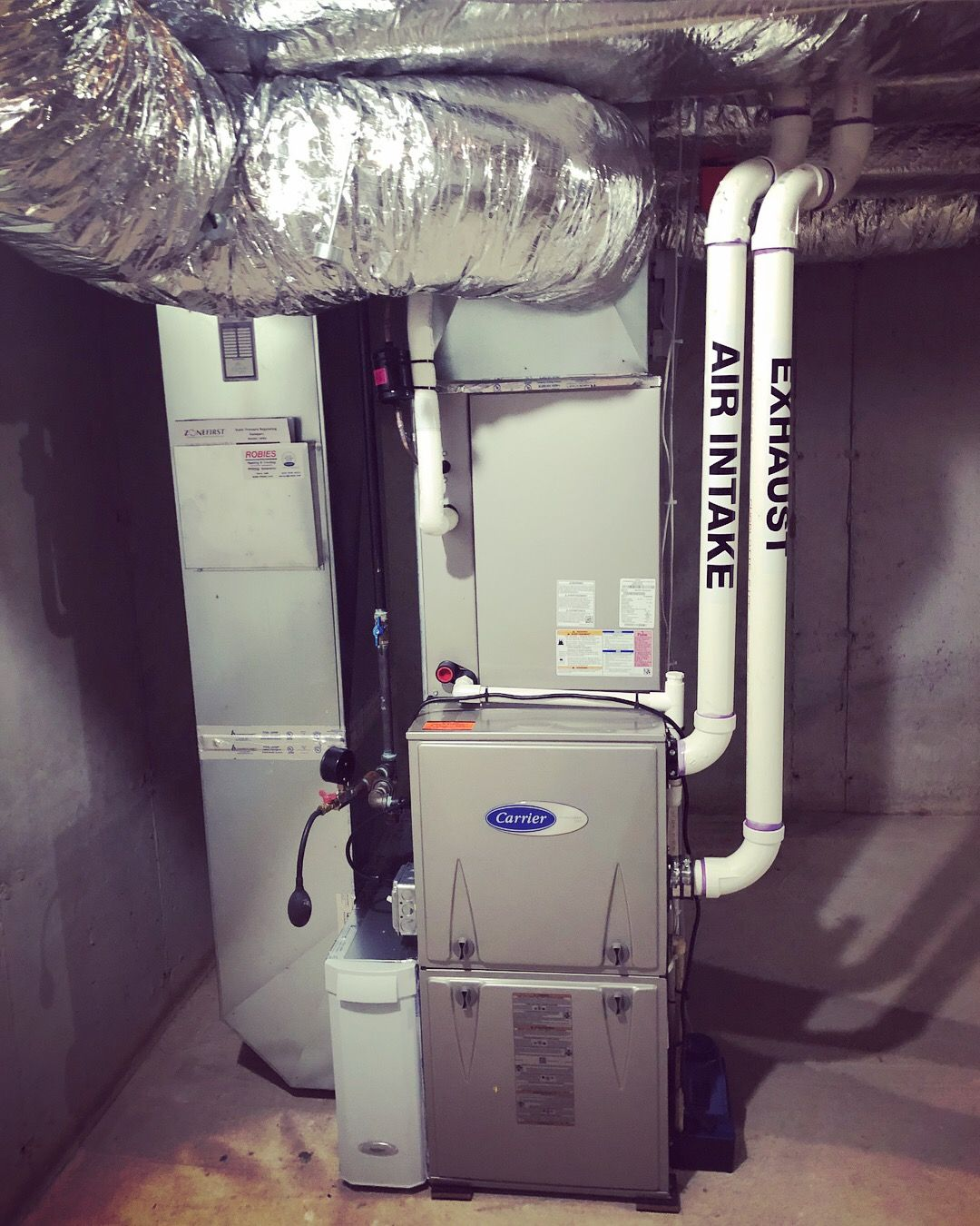 Pin On Central Hvac Installs