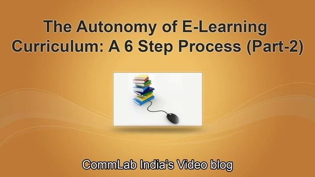 Creating Training Curriculum Is Now Simple A 6 Step Process Part 2 Video Elearning Instructional Design Curriculum